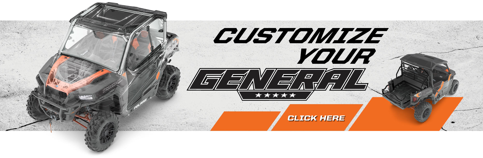 Customize your General